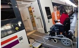 El tren accesible llega a Almería