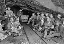 Antigua galería en una de las minas de La Unión.