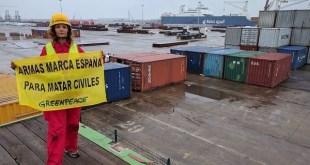 22/09/2017 Puerto de Bilbao, Vizcaya; Bizkaia. Euskadi. País Vasco Puerto de Bilbao. ©Greenpeace / Pablo Blazquez