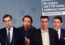 Greenpeace pide a los líderes españoles que no sean marionetas de la industria en las negociaciones del TTIP