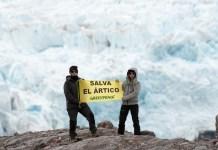 16/06/2016 Expedición 2016 al glaciar Nordenskjöld / Greenpeace © Mario Gómez/