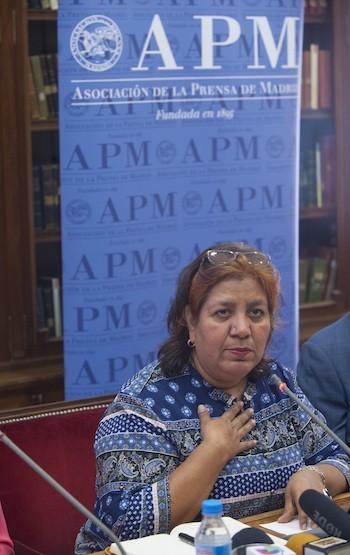 Griselda Triana. Foto: Pablo Vázquez / APM