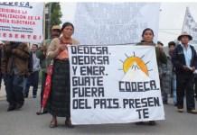 Guatemala, movilizaciones campesinas de Codeca