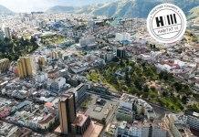 Cartel de Quito como sede de Habitat III