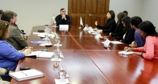 Reunión entre representantes de la Defensoría del Pueblo de Venezuela y de Acnur