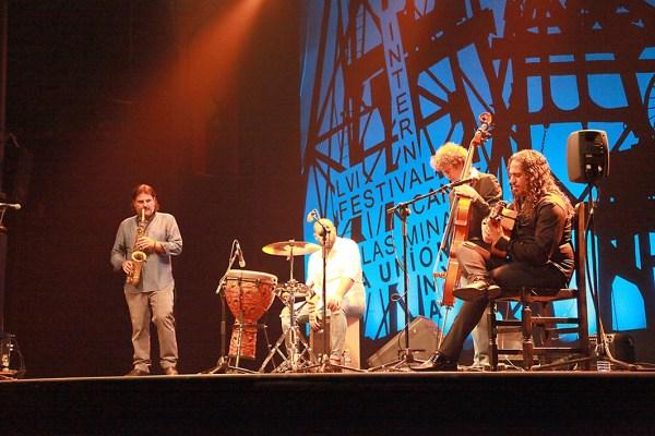 Gautama del Campo. Premio Filón a instrumentista, saxo 2015. Festival Int. del Cante de las Minas de la Unión 2016