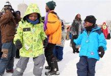 Los jóvenes inmigrantes descubren el Carnaval de Quebec © Radio Canadà