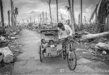 San José, Filipinas, tras el paso del tifón Yolanda, foto de Javier Sánchez-Monge Escario