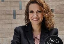 Jineth Bedoya Lima creó en 2009 la campaña 'No es hora de callar' para combatir la violencia contra las mujeres. Foto: cortesía diario El Tiempo