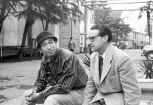 Retrato de José Suárez con Kurosawa