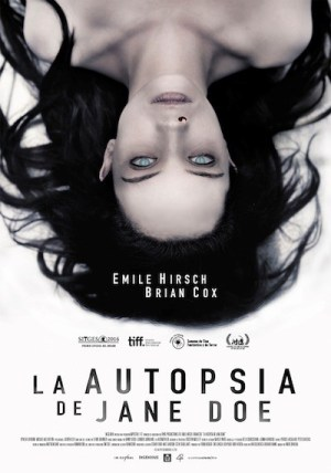 La autopsia de Jane Doe, cartel