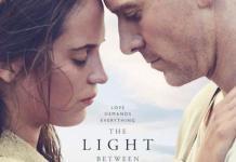 La luz entre los océanos, póster