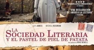 La sociedad literaria y el pastel de piel de patata, un romance de posguerra