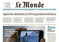 Le Monde, editorial 24 de noviembre de 2015
