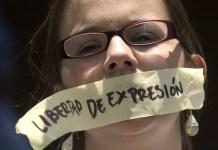 Libertad de expresión censurada