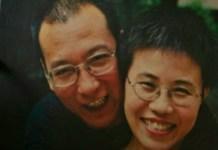 Liu Xiaobo con Liu Xia