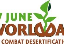 Logo de la UNCCD para el Día Mundial contra la Desertificación