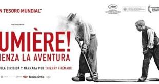 """""""Lumière, comienza la aventura"""": verdadera declaración de amor al cine"""