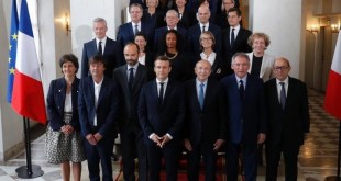 Primer gabinete ministerial de Emmanuel Macron