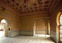 Madrid, Palacio del Buen Retiro, sala Nazarí