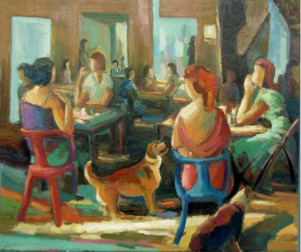 Manolete: mujeres con perro