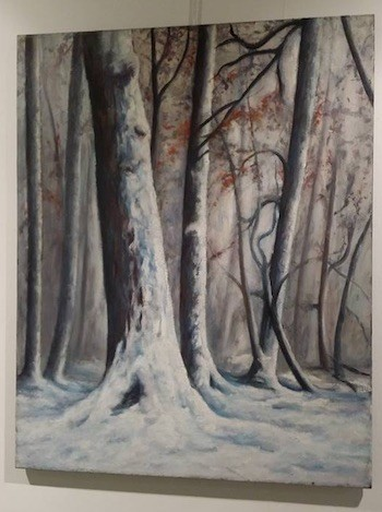 Manolete: paisaje nevado