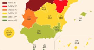 España envejece: las muertes superan a los nacimientos