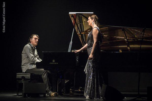 """Marina Heredia y Dorantes en concierto con """"Fusión Flamenca"""", Sala de Cámara del Auditorio Nacional de Madrid. Foto CNDM"""