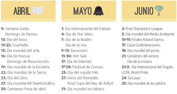 Marketing-calendario