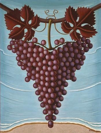 Maruja Mallo: racimo de uvas