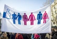 Pancarta que reclama el matrimonio igualitario