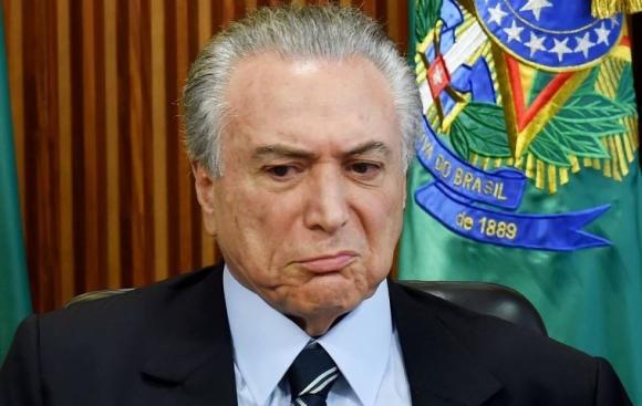 Michel Temer ANDES/AFP