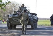 Tanques en Ucrania
