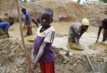 Trabajo infantil en minas de cobalto