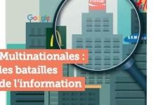 Multinacionales: las batallas de la información, portada del informe