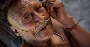 Buena parte del pueblo indígena nahua se ha visto afectado por envenenamiento de mercurio, que provoca anemia y problemas renales agudos. © Johan Wildhagen / Survival