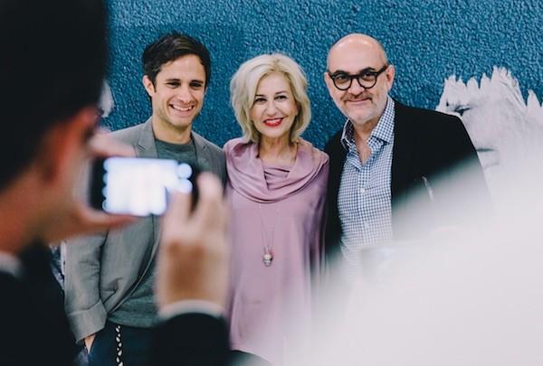 Neruda, actores en la presentación en Cannes