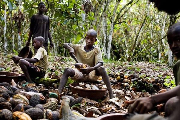 Niños esclavos en África