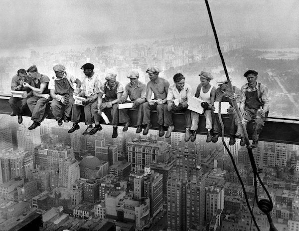 NY: fotos antiguas, rascacielos