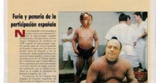 El País Imaginario, página dedicada a Manuel Fraga y Antonio Hernández Mancha