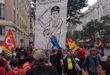 París, protestas por la reforma laboral, 14 de junio de 2016