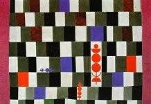 """""""Super-Schach"""" Paul Klee 1930. Propiedad particular Foto: socialfiction.org"""