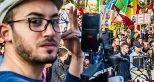 El periodista Mohamed El Asrihi, uno de los detenidos.