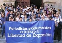 Periodistas de Guatemala defienden la libertad de expresión