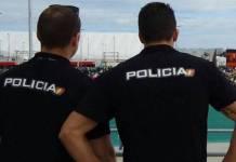 Agentes de policía en España