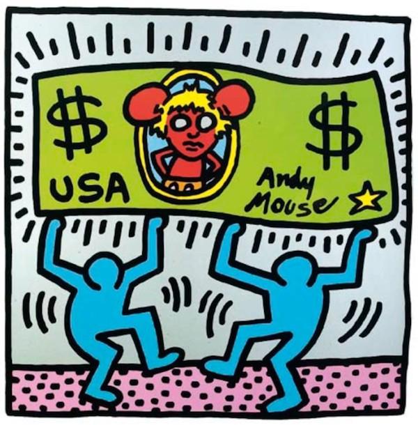 Pop-art inspirado en USA