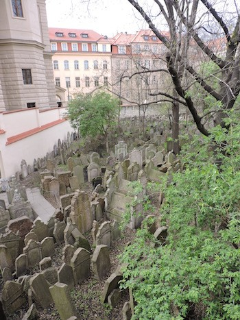 ABianco: cementerio judío de Praga
