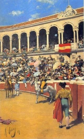 Ramón Casas, la Maestranza de Sevilla