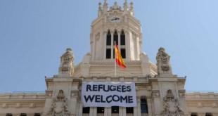 Realojados los 80 refugiados sirios que acamparon en Madrid