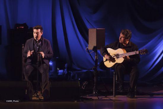 Flamenco Monumental. Juan Valderrama y 'Calderito'. Foto Manuel Rosdríguez